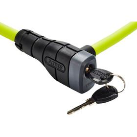 ABUS Primo 5412K/85 Kabelslot, groen/zwart